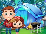 Play Camp with Pops Online