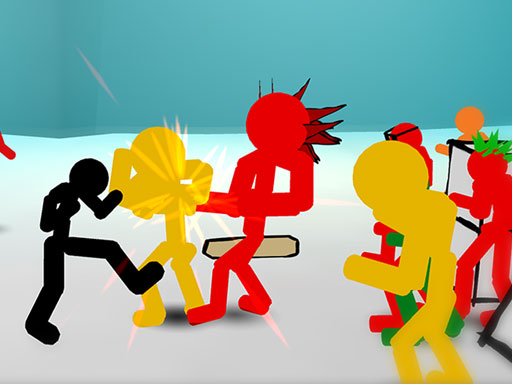 Play Stickman Street Fighting Online