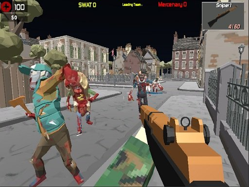 Play GunGame Poligon Battle Royale Online