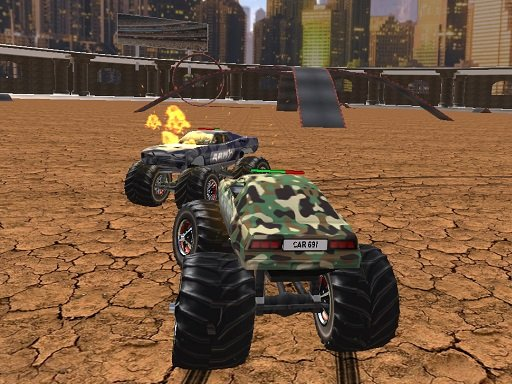 Play Demolition Monster Truck Army 2020 Online
