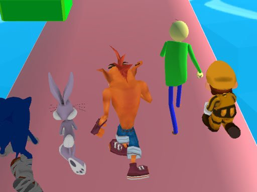 Play Fun Race 3D - Crash Bandicoot Online
