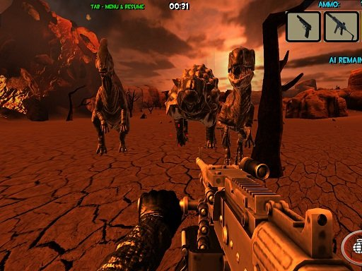 Play Dinosaurs Survival The End Of World Online