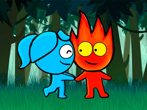 Play Red boy and Blue Girl Forest Adventure Online