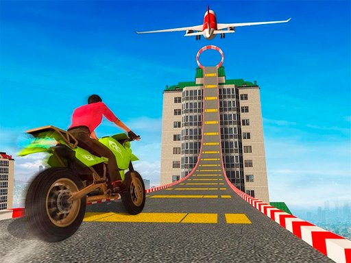 Play Sky Bike Stunt 3D Online