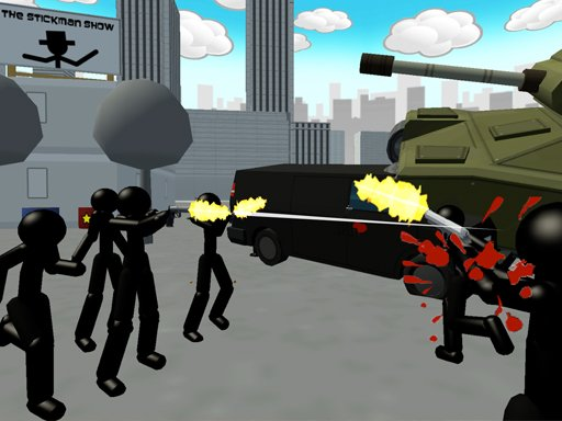 Play Stickman City Shooter Online