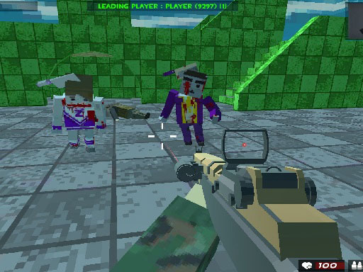 Play Survival Shooting Xtreme Crazy Pixel Combat Online